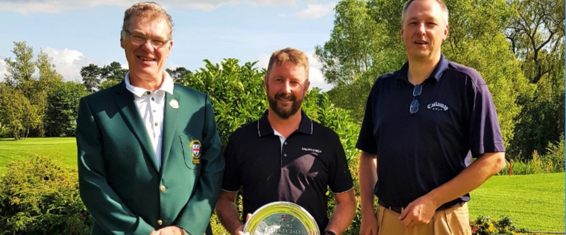 Congratulations to Duncan MacPherson ( Worcs G&CC) 2019 County Seniors Match Play Champion