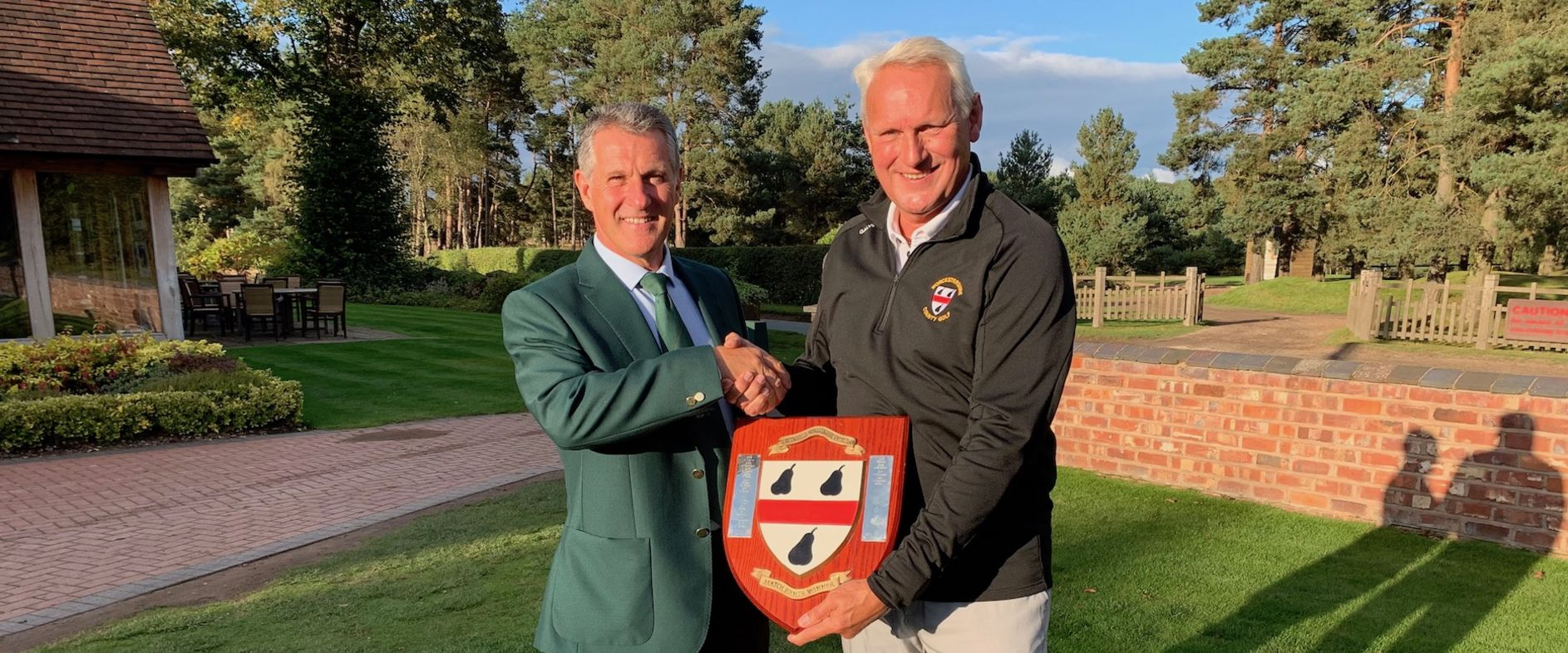Congratulations to Tony Sanders (Worcs G&CC) for winning the 2019 Bolton Shield