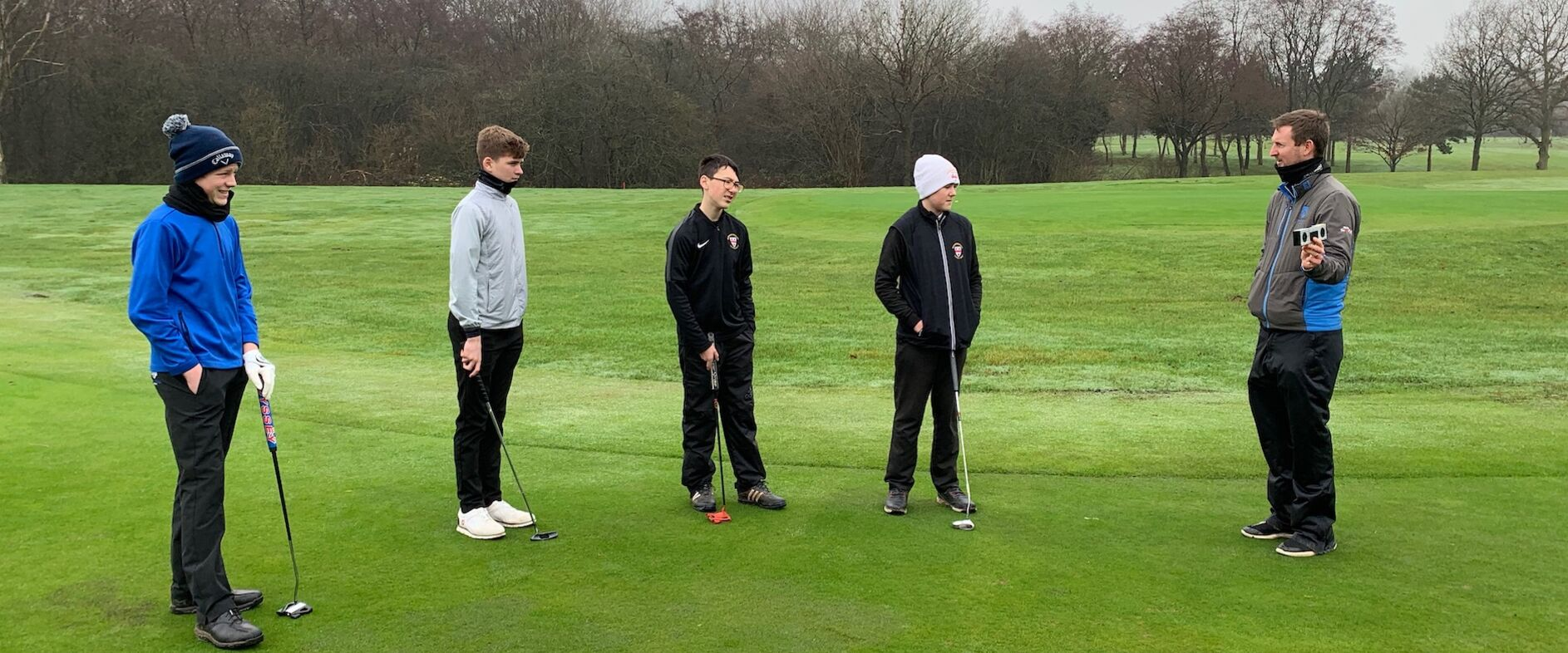 A final County Boys Group Coaching session at Hagley GC 21.12.20 before lockdown
