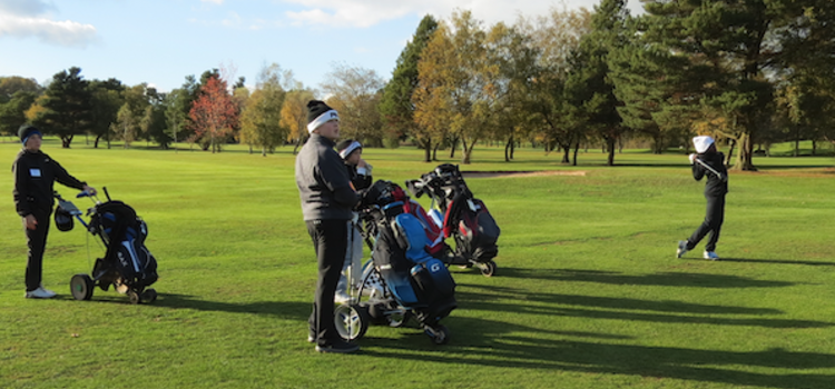 Developing our future players - A junior Coaching session at Kings Norton GC